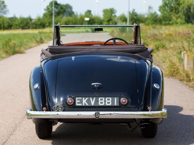 1939 Daimler DB18 Drophead Coupe Carlton (49531) luxury retro wallpaper