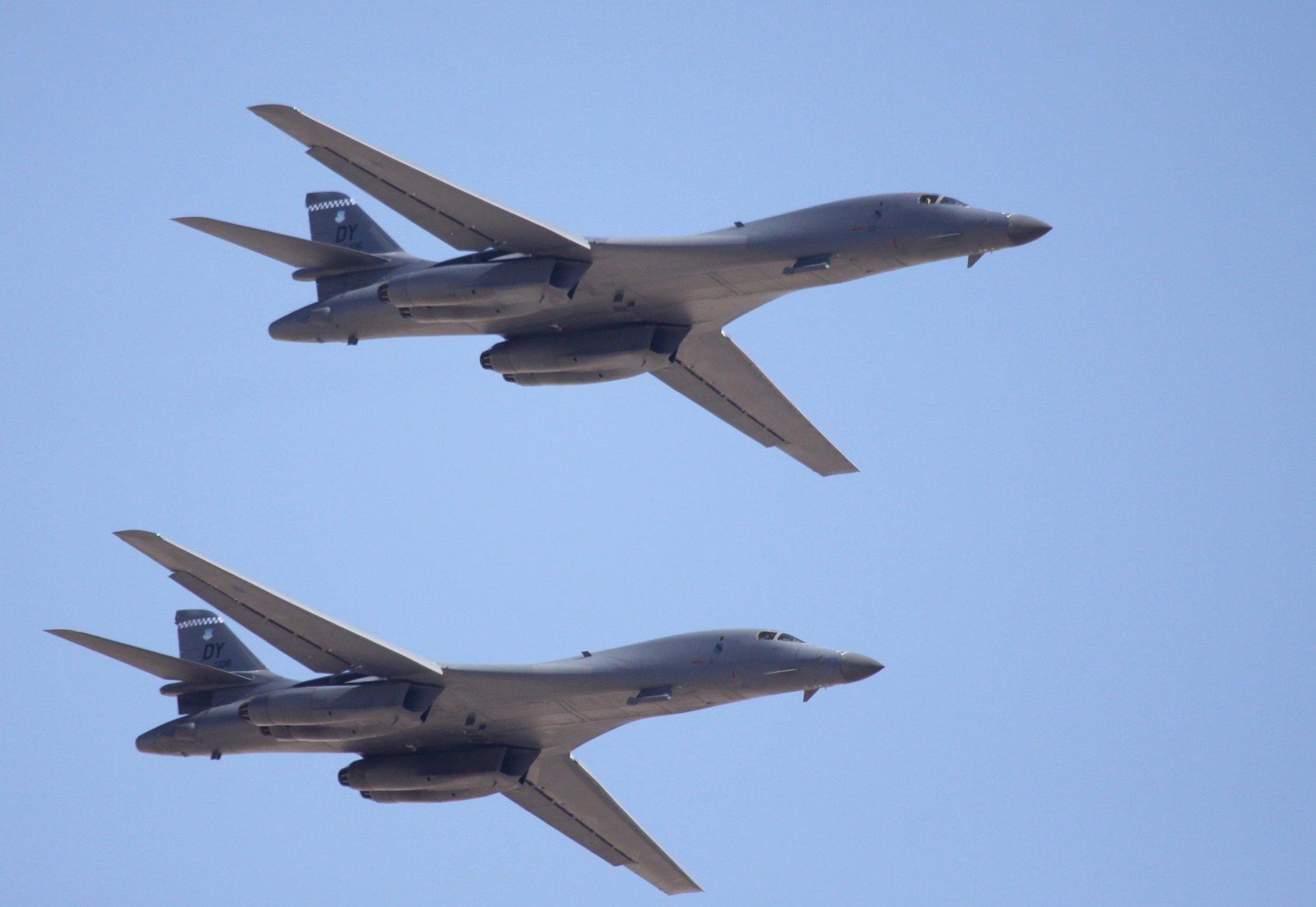 Rockwell B-1 Lancer bomber USA army aircrafts jet ... B1 Lancer Supersonic