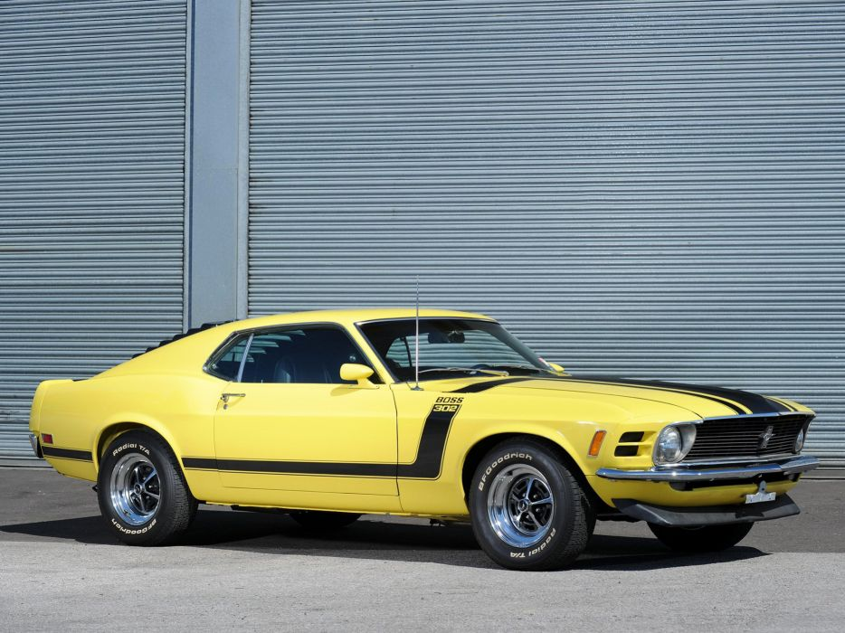 1970 Ford Mustang Boss 302 muscle classic wallpaper