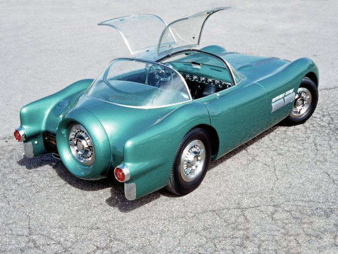 1954 Pontiac Bonneville Special Concept retro wallpaper