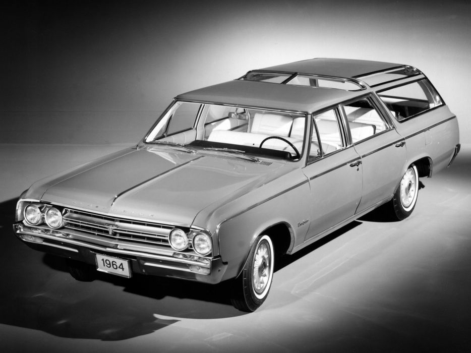 1964 Oldsmobile Vista Cruiser Custom stationwagon classic wallpaper