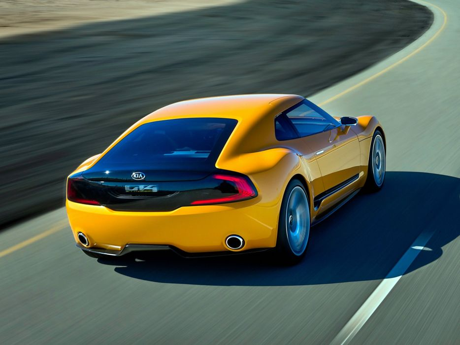 2014 Kia GT4 Stinger Concept supercar wallpaper