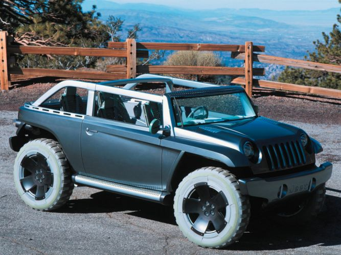 2001 Jeep Willys Concept 4x4 awd wallpaper