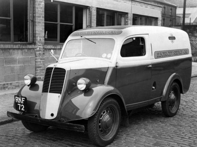 1938 Fordson Thames 10cwt E83W delivery retro van wallpaper