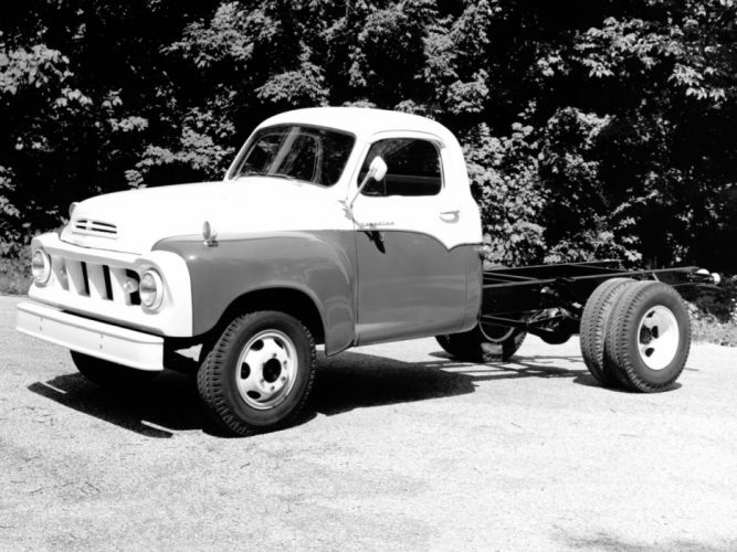 1962 Studebaker Transtar Chassis Cab (7-E) wallpaper