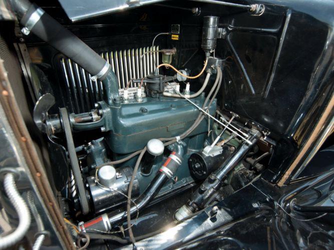 1931 Ford Model-A Phaeton Deluxe (180A) luxury retro wallpaper