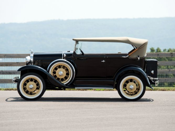 1931 Ford Model-A Phaeton Deluxe (180A) luxury retro wallpaper