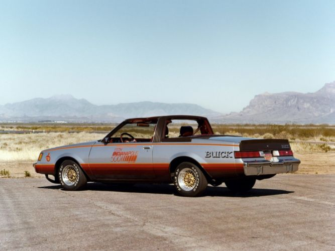 1981 Buick Regal Indy 500 Pace Car race racing muscle wallpaper