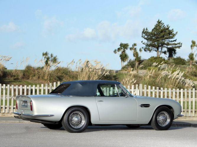 1969-71 Aston Martin DB6 Volante UK-spec (MkII) classic wallpaper