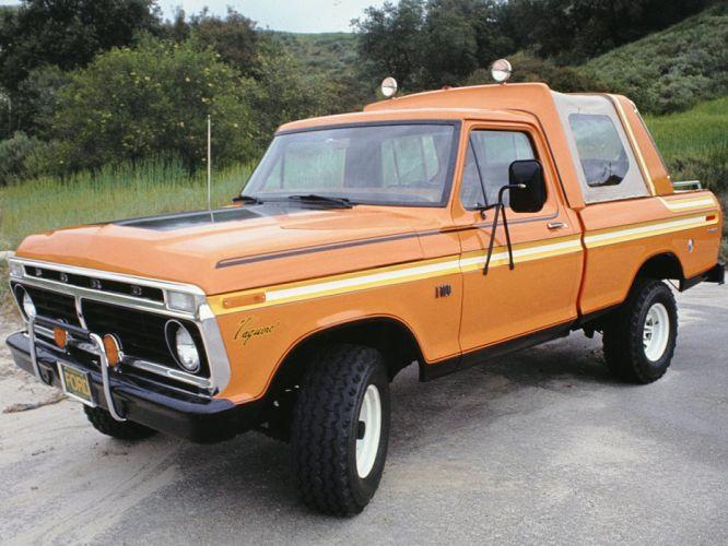 1976 Ford F-100 Vaquero Show Truck pickup f100 4x4 wallpaper