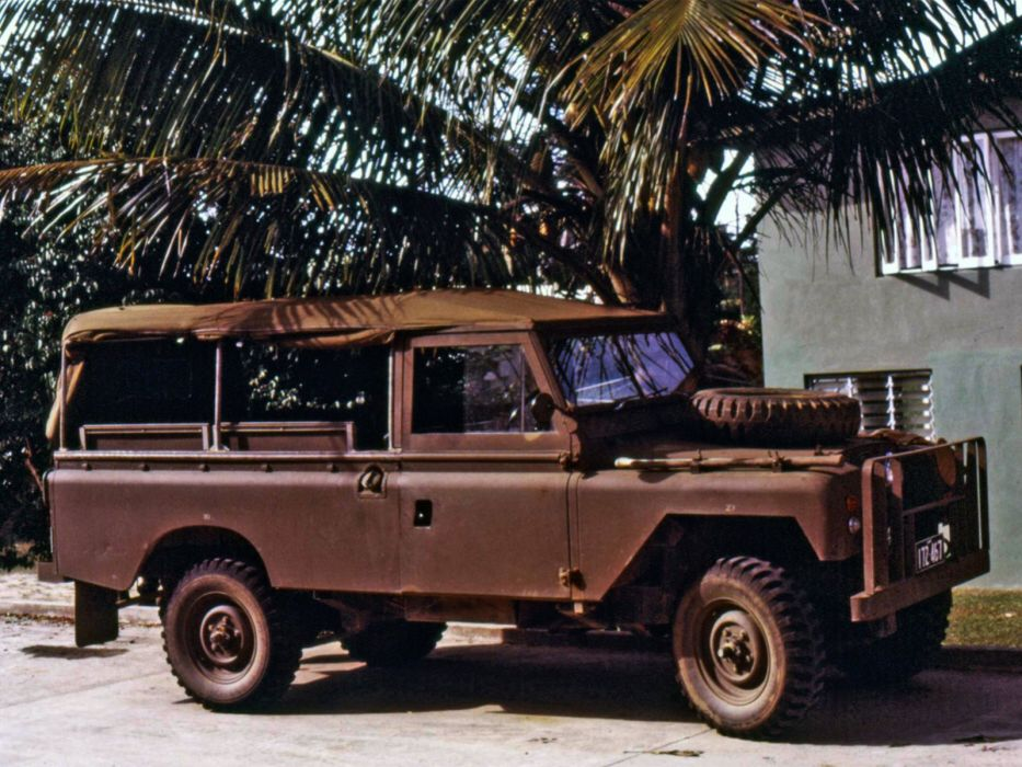 1964 Land Rover Series-IIA 109 Utility Truck (Census-6028) suv 4x4 classic wallpaper