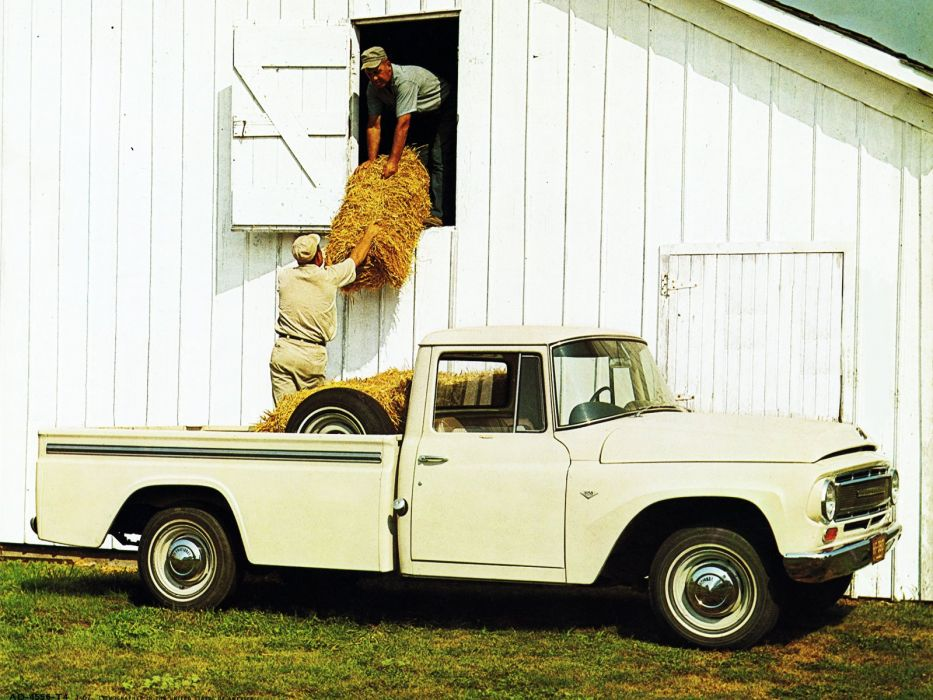 1967 International Custom Pickup (1100) classic wallpaper