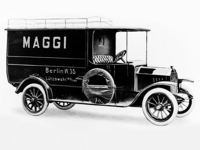 1913 Daimler U 1 T Lieferungswagen transport delivery retro u1t wallpaper