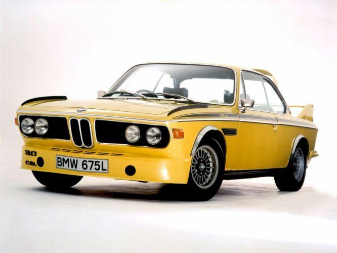 1972-73 BMW 3 0 CSL UK-spec (E-9) classic 3-0 wallpaper