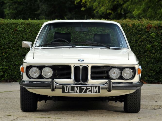 1972-73 BMW 3 0 CSL UK-spec (E-9) classic 3-0 wallpaper