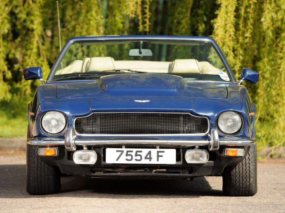 1977-89 Aston Martin V-8 Volante UK-spec wallpaper