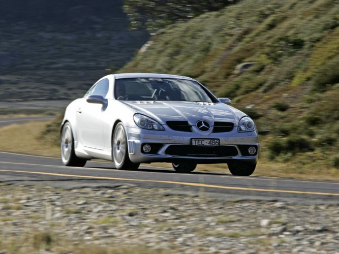 2005-08 Mercedes Benz SLK55 AMG AU-spec (R171) slk wallpaper