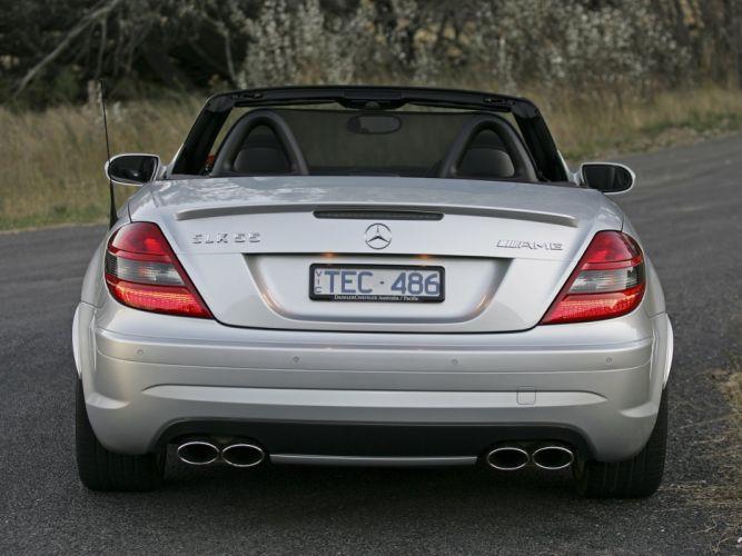 2005-08 Mercedes Benz SLK55 AMG AU-spec (R171) slk wallpaper