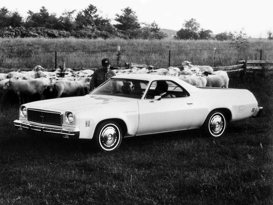 1973 Chevrolet El-Camino Sedan Pickup (1AC80) classic Camino wallpaper