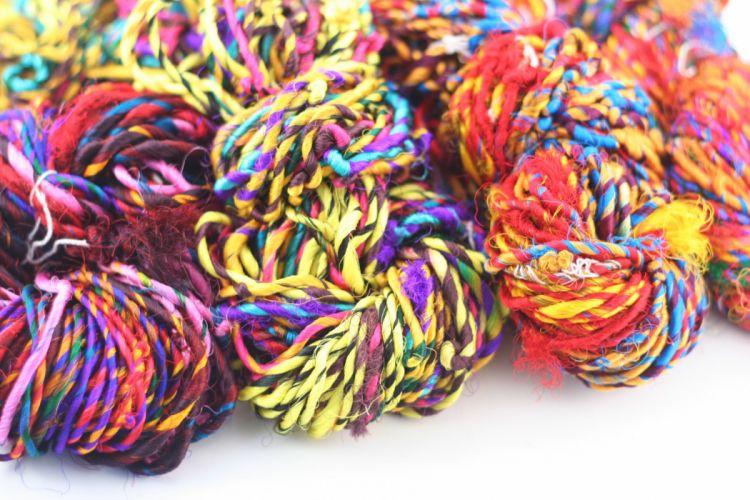 yarn string pattern knitting rope psychedelic bokeh craft wallpaper