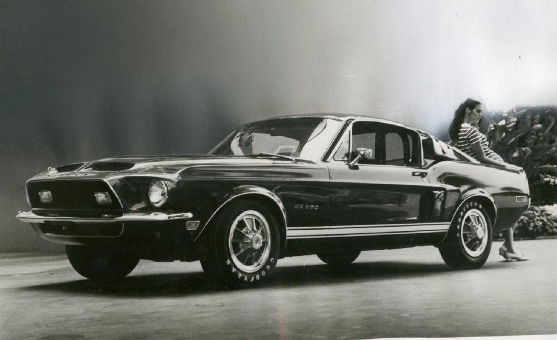 1967 Ford Mustang Shelby GT500 wallpaper