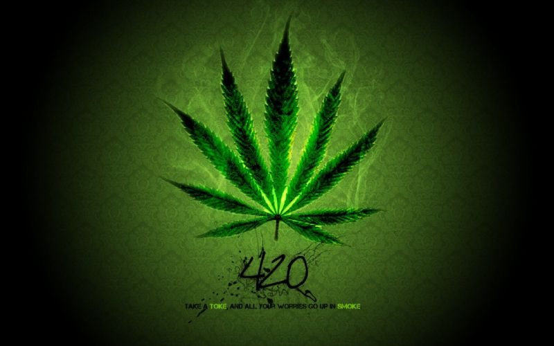 420 Weed wallpaper