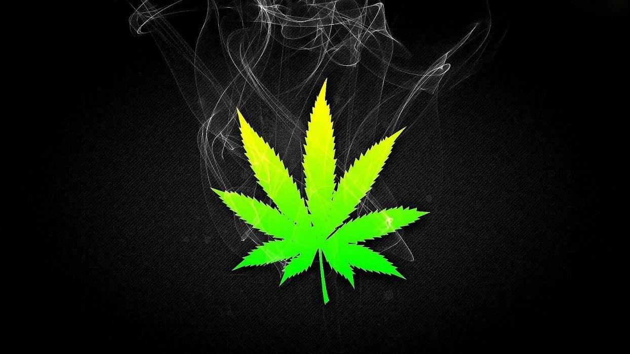 Weed Smoke Wallpaper