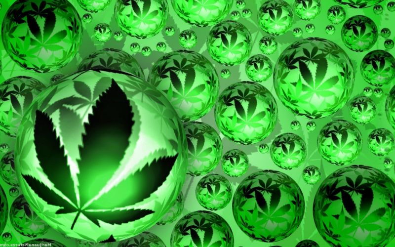 Weed background wallpaper