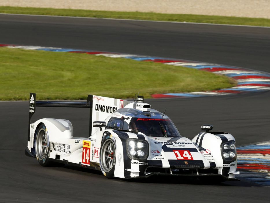 2014 Porsche 919 Hybrid Le-Mans race racing lemans wallpaper