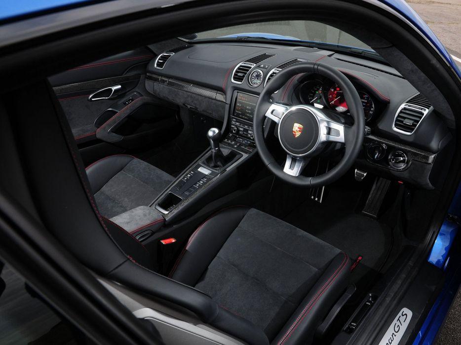2014 Porsche Cayman GTS UK-spec (981C) wallpaper