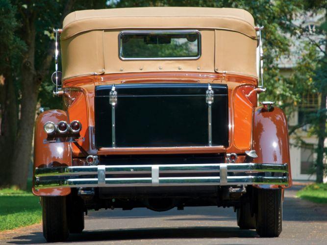 1929 Pierce Arrow Model 126 Convertible Coupe retro luxury wallpaper