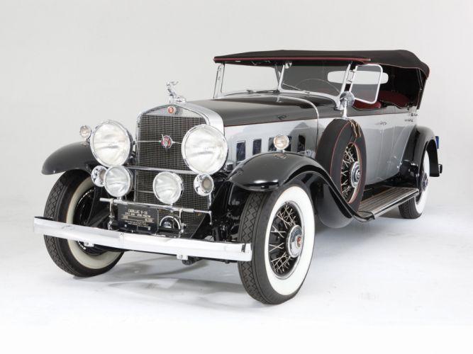1930 Cadillac V16 452 Sport Phaeton Fleetwood (4260) luxury retro wallpaper