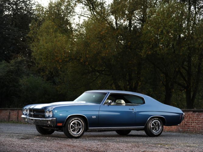 1970 Chevrolet Chevelle S-S 396 Hardtop Coupe muscle classic wallpaper