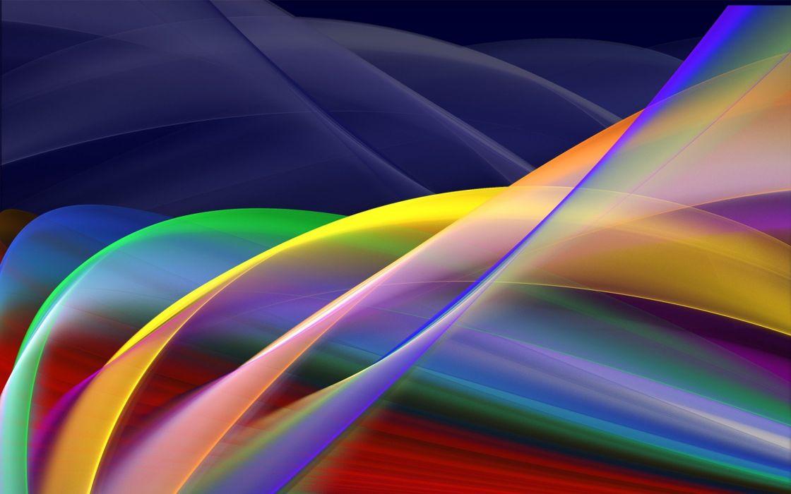 color wave wallpaper