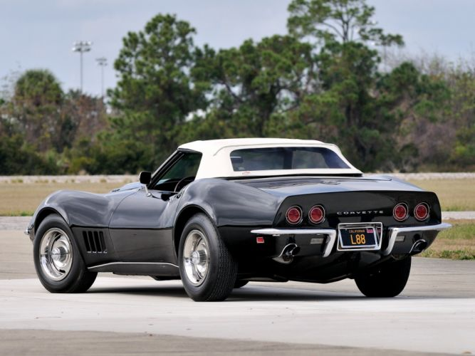 1968 Corvette L88 427 430HP Convertible muscle classic supercar wallpaper