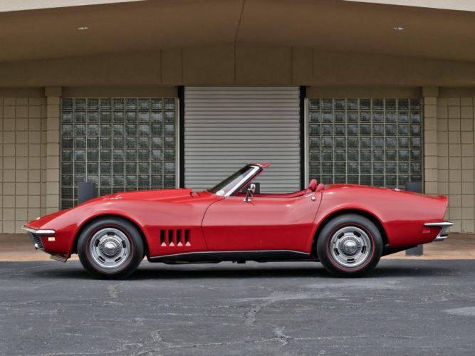 1968 Corvette L88 427 430HP Convertible muscle classic supercar wallpaper