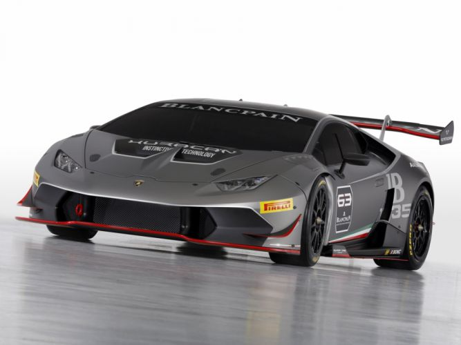 2015 Lamborghini Huracan LP620-2 Super Trofeo supercar race racing wallpaper