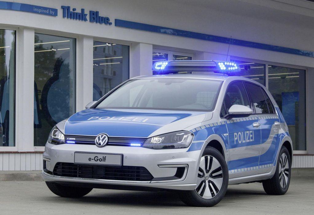 2014 Volkswagen e-Golf police cars wallpaper