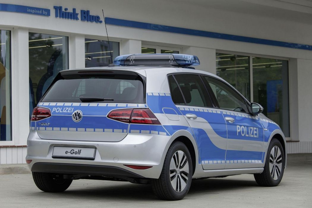 2014 Volkswagen e-Golf police cars wallpaper