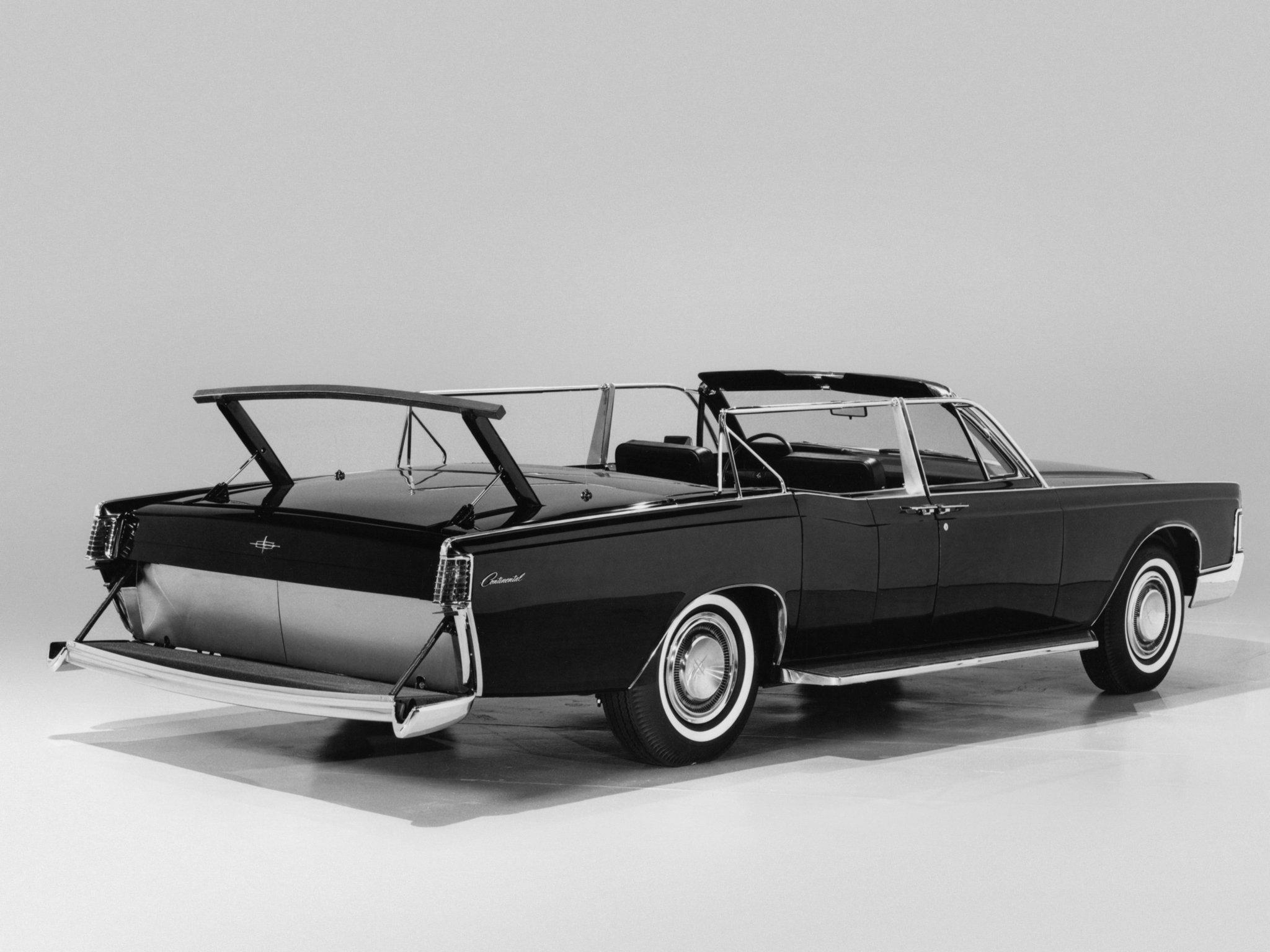 1968 Lincoln Continental Secret Service Convertible