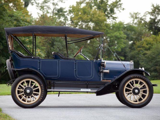 1913 Overland Model-71 5-passenger Touring retro wallpaper