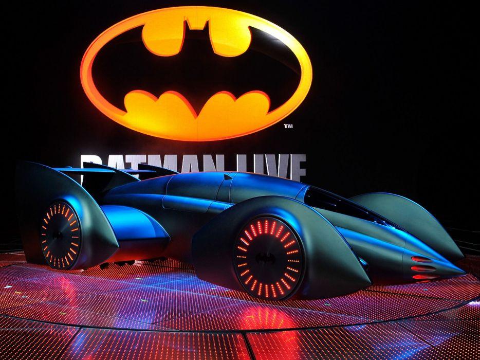 2011 Batmobile Dark Knight Custom Concept Movie Supercar Batman Wallpaper