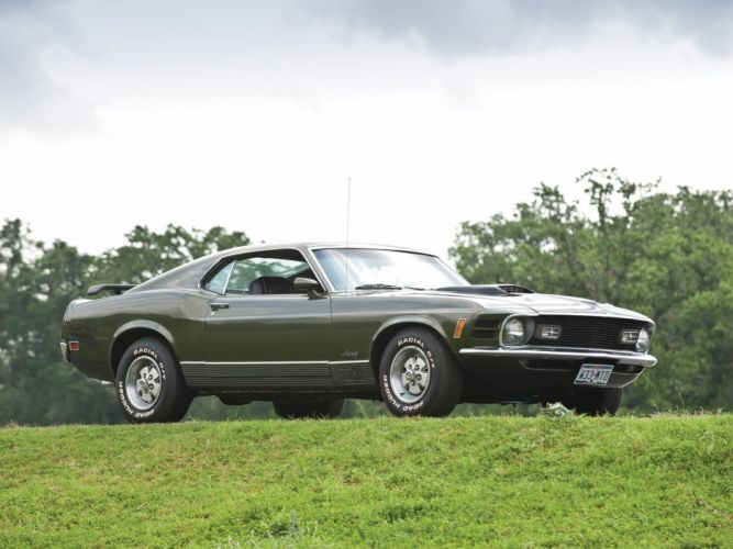 1970 Ford Mustang Mach-1 muscle classic wallpaper