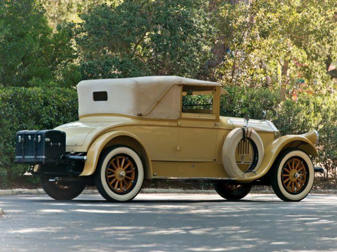 1925 Pierce Arrow Model-33 Convertible Coupe Derham retro wallpaper