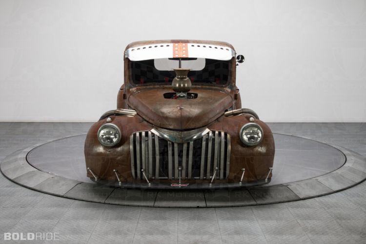 1947 Chevrolet 3100 Pickup Rat Rod rods pickup lowrider hot wallpaper