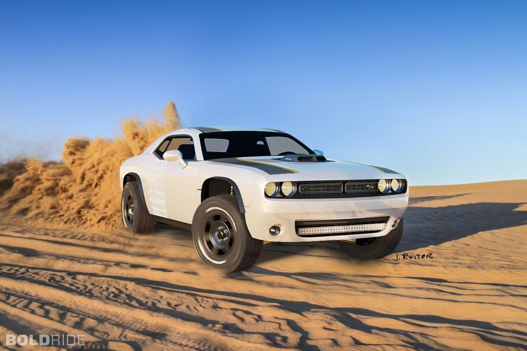 2014 Dodge Challenger A T Untamed Concept Muscle Awd Hot Rod Rods 4x4 Wallpaper 2000x1333 437298 Wallpaperup