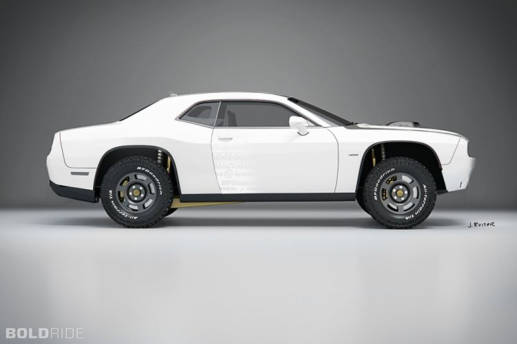 2014 Dodge Challenger A-T Untamed Concept muscle awd hot rod rods 4x4 wallpaper