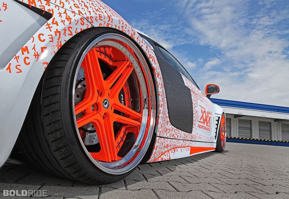 2015 Tuner-Wheels Audi R-8 tuning wheel wallpaper