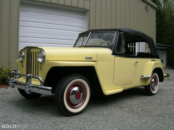 1949 WILLYS JEEPSTER 4x4 retro jeep suv wallpaper