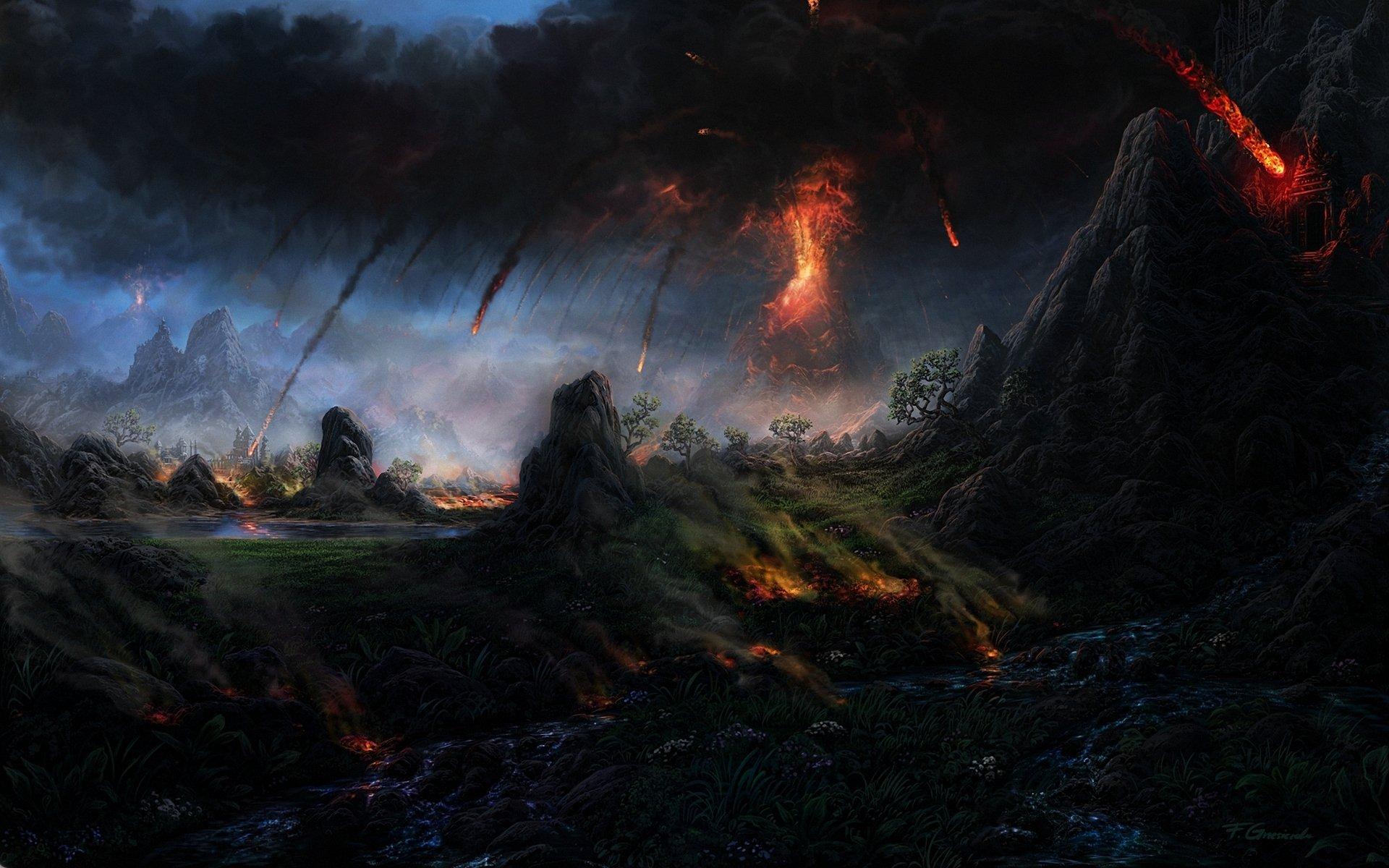 evil landscape background - photo #22